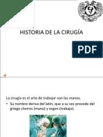 Historia Cirugía