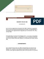 Decreto 765