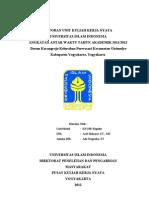 Laporan KKN UII Unit KP-190 2012