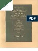 Derecho Internacional Privado de Los Estados Del Mercosur - Arroyo Diego Fernando