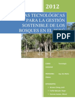TAM-G3-PROPUESTAS TECNOLÓGICAS PARA LA GESTIÓN SOSTENIBLE DE LOS BOSQUES EN EL PERÚ