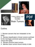 Wilson Brain Tumors