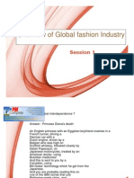 Overview of Global Fashion Industry Session 1