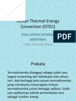 Ocean Thermal Energy Convertion (OTEC)