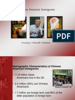 Chinese Americans Cultural Presentation Example