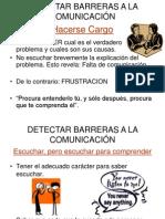 Detectar barreras comunicacion