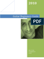 Guitar Beginners Guide