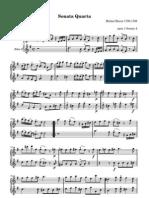 Sonata Quarta - Michele Blavet