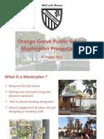 Orange Grove Public School Masterplan Presentation
