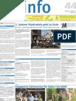 Stadtinfo Aalen - KW 33 - 2012