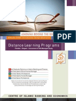 Distance Learning Profile - Local and International