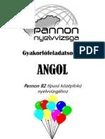 52123630 Pannon B2 ANGOL Gyakorlofeladatsorok