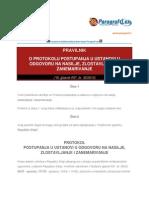 Pravilnik o Protokolu Postupanja u Ustanovi