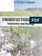 Romanian Salt Tolerant Plants. Taxonomy and Ecology. Marius-Nicusor Grigore