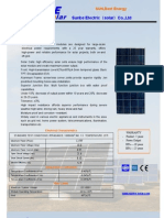 125W 12 v Offgrid Solar PV Panel