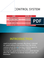 Cruise Control System (Latest)