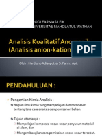 Analisis Kualitatif Anorganik Bener