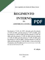 Regimento Interno 2011 - Assembleia