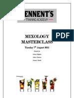 Mixology Masterclass
