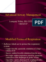 Advanced Airway Management