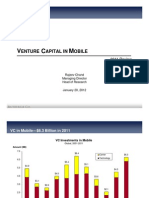 VC Investment in MOBILE 2011review