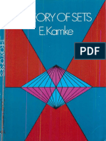 e Kamke (Author) - Theory of Sets (Dover Publications,1950,0486601412)