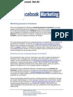 Marketing Pessoal No Facebook