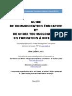 Guide de Communication FAD