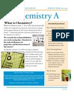 Chemistry a Syllabus 2012-2013