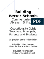Fischler Pocket 4th Edition Quotes for Transforming Schools