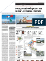Tenemos el compromiso de poner en valor la Amazonía remarca Humala