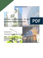 Nuevas Alternativas de Materiales en Aislamientos y Fachadas