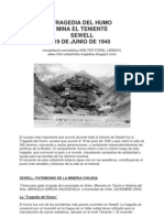 Tragedia del Humo, Mina Sewell, Chile 1945