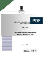 Red de Monitoreo de Calidad Del Aire Bogota Informe 2008 (1)
