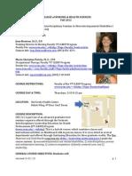 Intrdsc Sem Neurodev Disabil I - CSD 311 ZRA - Course Syllabus