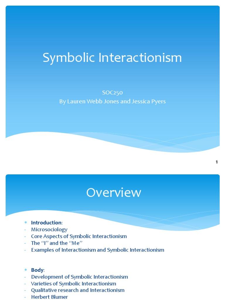 Symbolic Interactionism Definitely Finished Wovideo Academic