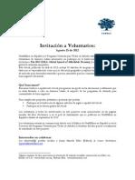 Invitacion a Voluntarios - Ashoka y NextBillion en Español