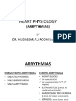 3rd Lecture on Arrythmias by Dr. Roomi
