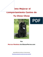 Cómo Mejorar el Comportamiento Canino de tu Chow Chow