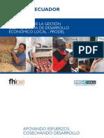Resultados de la gestión del Programa de Desarrollo Económico Local - PRODEL