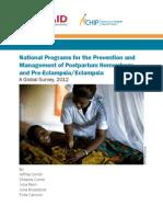 2012 Progress Report_Short Report