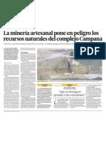Mineria Ilegal afecta Recursos Naturales Peru