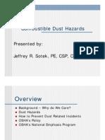 Combustible Dust Hazards