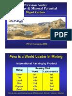 Edades y Correlación de Depósitos Minerales Perú