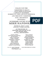 Lawyers for Justice Mike Randolph