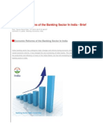 Economic Reforms of the Banking Sector in India