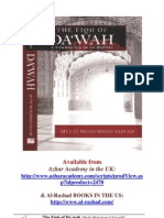 Prophetic Dawah (The Fiqh of Dawah)