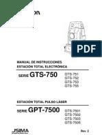Manual Español - GPT-7500