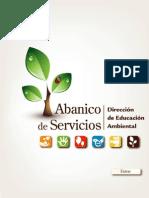 El Abanico de servicios final_Dirección de Educación Ambiental