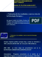 XI Encuentro EuroAmericano. Salamanca Octubre 2011 (CF)